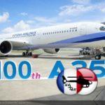 Airbus consegna il 100° esemplare di A350 XWB